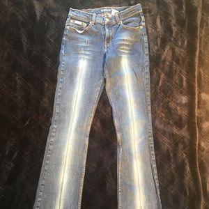 Denim - Boston Jeans with unique seem down the front